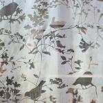 Рулонные шторы в весеннем дизайне «Птички»